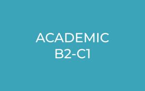 Academic B2-C1